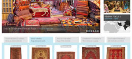Magento website developed for Atlantis Rugs