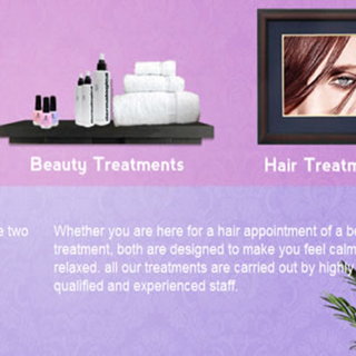 Escape Retreat : Beauty and Treatment website