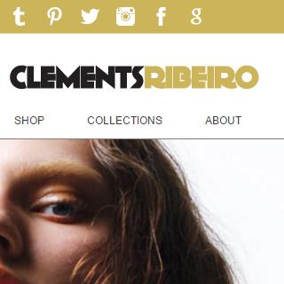 Clements Ribeiro : Fashion e-commerce store