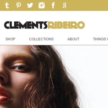 Clements Ribeiro Magento store