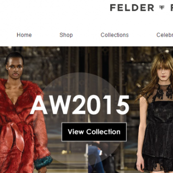 Felder Felder Magento fashion website