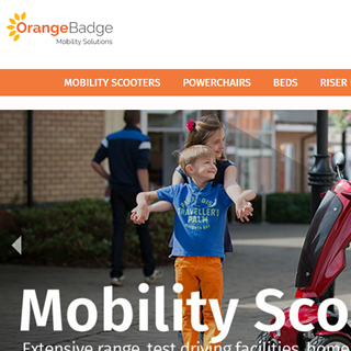 Orange Badge : Magento Mobility Store