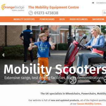 Orange Badge Magento website