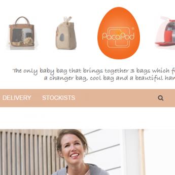 Pacapod Magento website