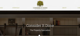 Consider It Done : Property Services Website