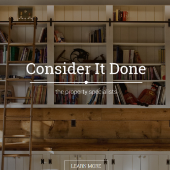 Consider it Done WordPress website