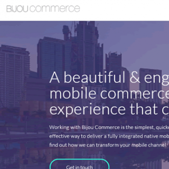 Bijoue Commerce WordPress web design