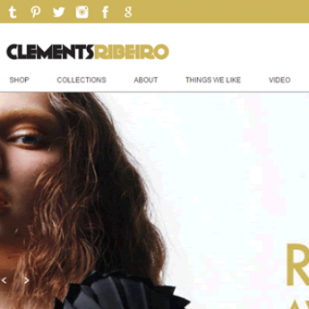 Clements Ribeiro Magento website