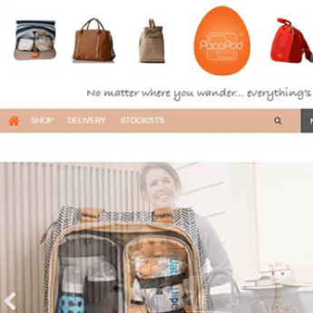 Pacapod Magento website designer