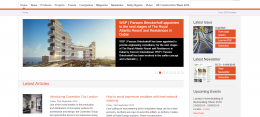 Building Construction Design Wordpress multi site