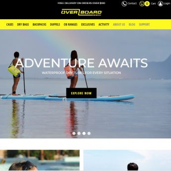 Overboard shopify store